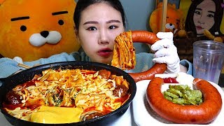 라자냐면으로 만든 미트볼파스타 먹방 Mukbang