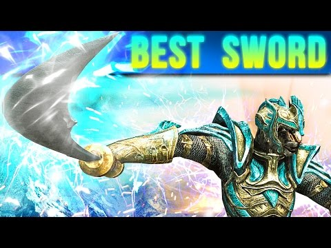 Skyrim Best Weapon in the game – (Unique Sword Windshear Location)
