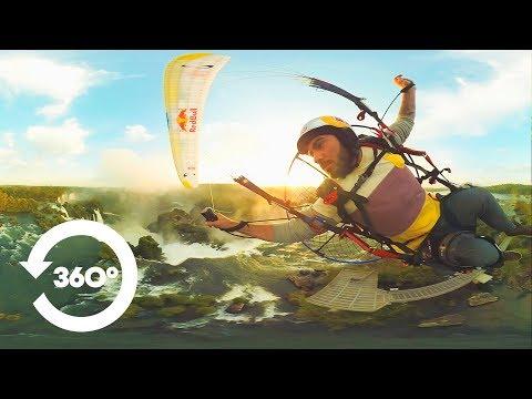 Glide above the Iguazu Falls with Rafael Goberna | 360º Video