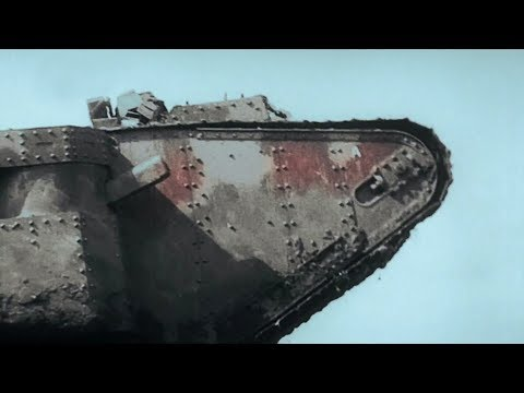 British heavy tanks of World War I [HD]