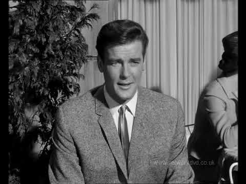 Roger Moore in The Saint - The Complete Monochrome Series, ep 'The Work of Art'