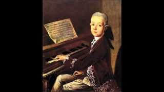 W. A. Mozart - KV 3 - Allegro for keyboard in B flat major