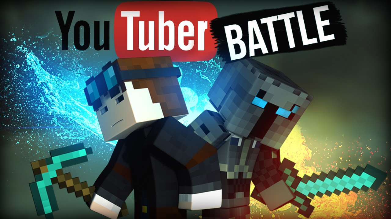 POPULARMMOS VS THEDIAMONDMINECART | YOUTUBER BATTLE ...