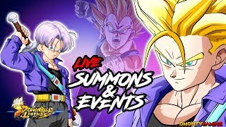 9K CRYSTALS LIVE SUMMONS AND RUNNING EVENTS!! | 4TH OF JULY STREAM HYPE! | DRAGON BALL LEGENDS