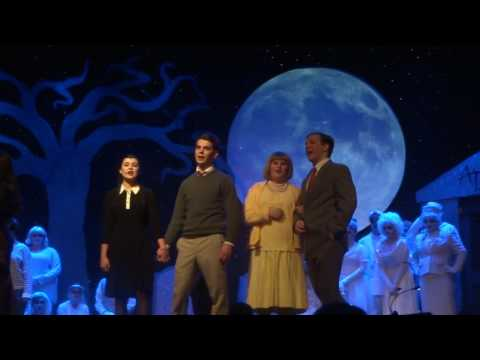 Addams Family - Cast - performed by the Irondequoit High School, March 18, 2017