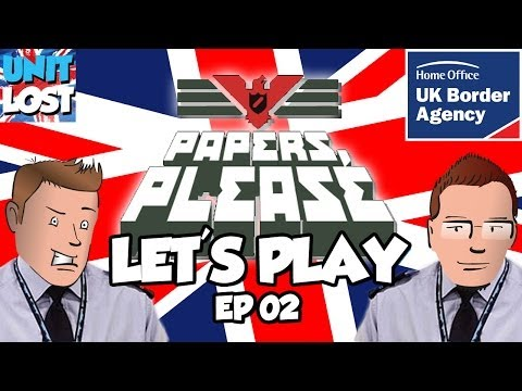 Papers Please Let's Play! - English Border Patrol Part 02