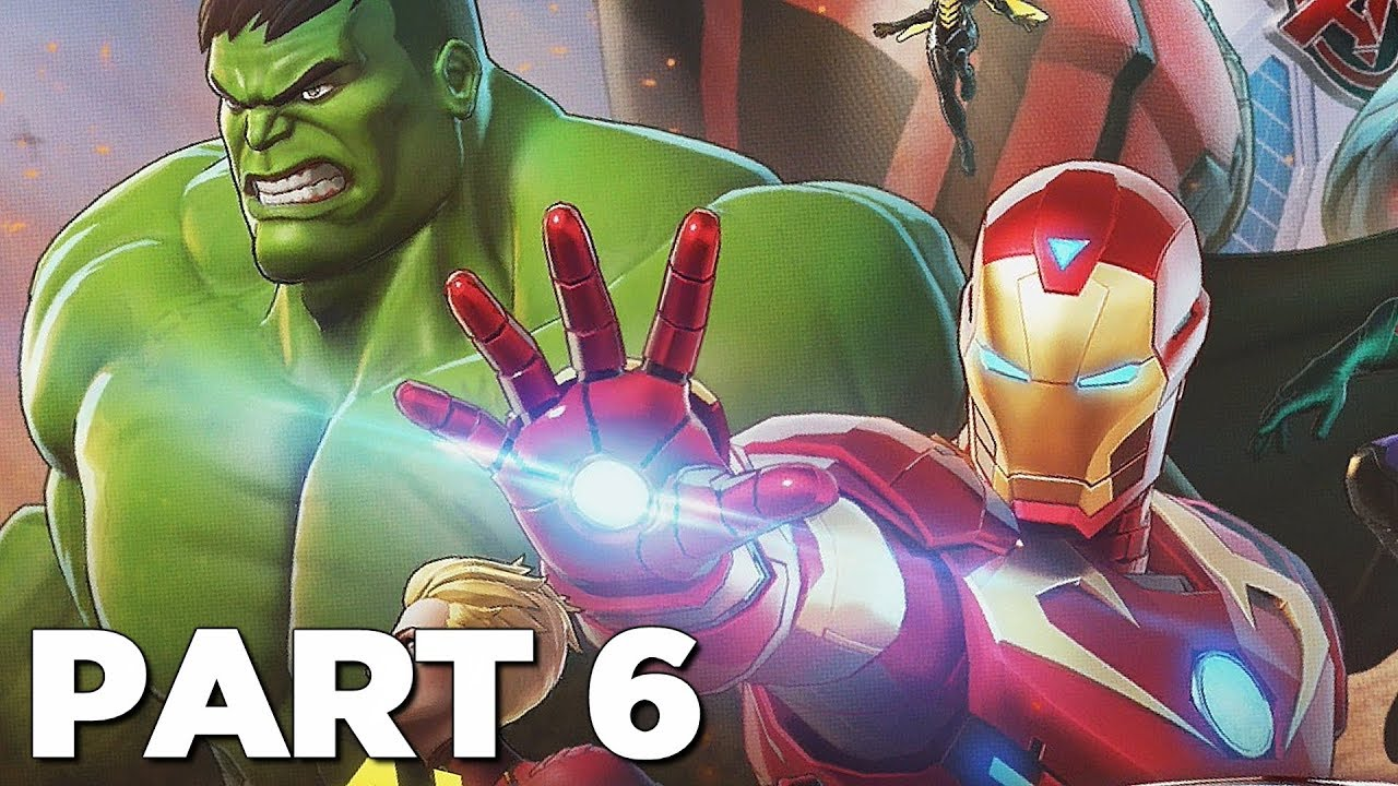 MARVEL ULTIMATE ALLIANCE 3 THE BLACK ORDER Walkthrough Gameplay Part 6 -  WASP (Switch)