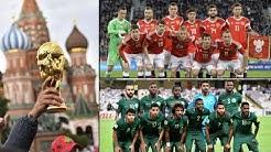 WM 2018 startet: Russland eröffnet gegen Saudi-Arabien