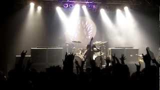 Gojira singer/drummer switch LIVE Philadelphia TLA 2/16/13