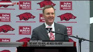 Chad Morris introductory Press Conference