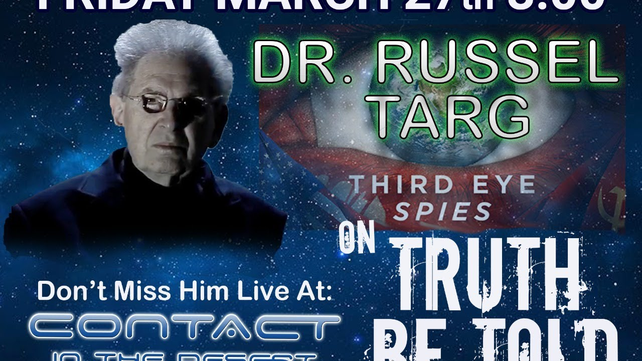 Remote Viewing and More with Dr Russel Targ