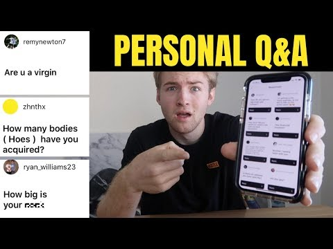 Entrepreneur Let's Subscribers Ask Him ANYTHING (Personal Q&A)