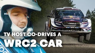 Co-driving a WRC2 Car With Elfyn Evans | Mike Chen's WRC 2018 Part 2