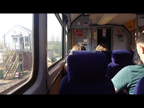 Onboard a Class 142 Northern Train departing Grindleford Station, England