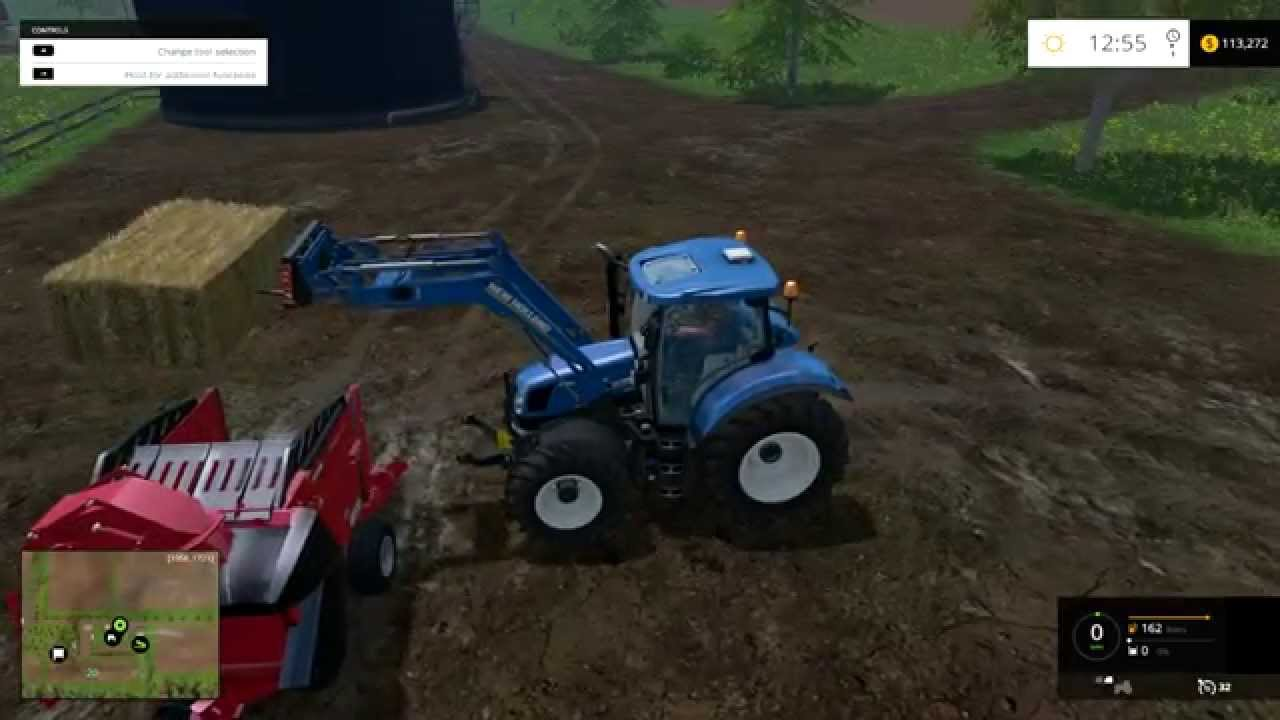Farming Simulator We Actually Fed The Cows YouTube - Farming simulator 2015 us map feed cows