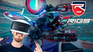 CONTROL A MECH IN VR! | RIGS - Playstation VR Gameplay