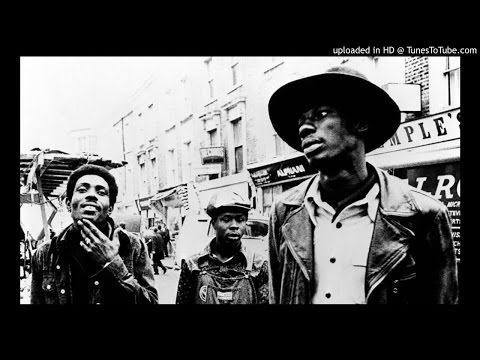 The Heptones & Sound Dimension - Young Gifted And Black +  Colour Him Black Ver