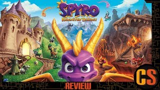 SPYRO REIGNITED TRILOGY - REVIEW (Video Game Video Review)