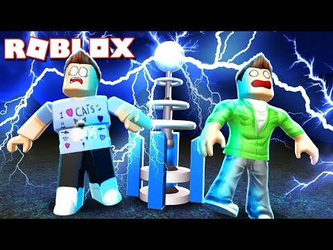 Roblox Adventures  DONT TOUCH THE DEADLY TESLA COIL! Broken Bones 3