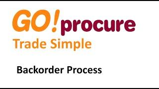 Backorder Process Explained