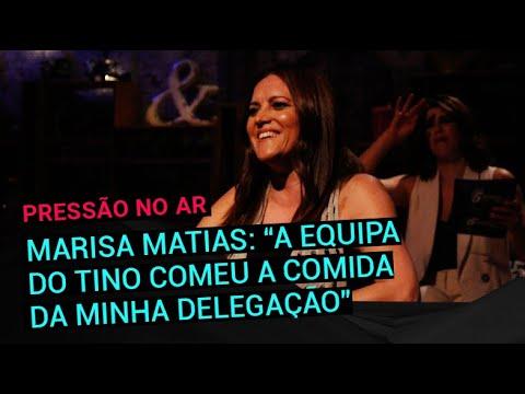 Marisa Matias: 'A equipa do Tino de Rans comeu a comida da minha delegação'