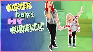BIG SISTER BUYS MY OUTFITS!! **CHALLENGE**