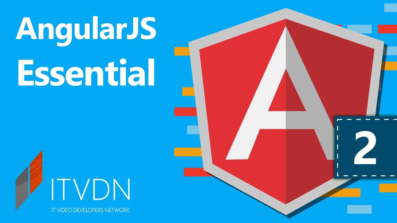 Видеокурс по AngularJS Essential. Урок 2. Использование привязок и стандартных директив