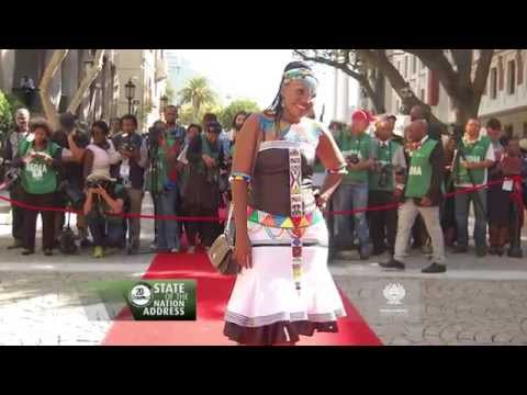 State of the Nation Address, 17 June: Red Carpet Fashion