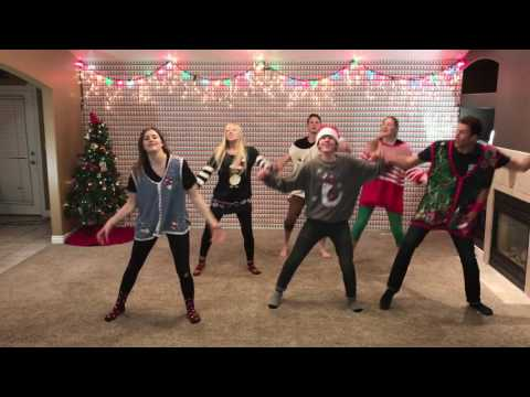 Christmas Dance 2016 with 8 Siblings - Mariah Carey & Pentatonix