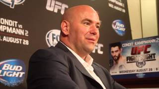 Dana White: No Way I'd Let Vitor Belfort Fight in Brazil If He Was Cheating Down There