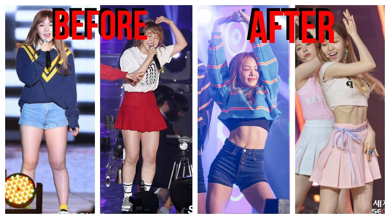 This Kpop Female Idol Weight Loss Transformation Will Shook You Youtube