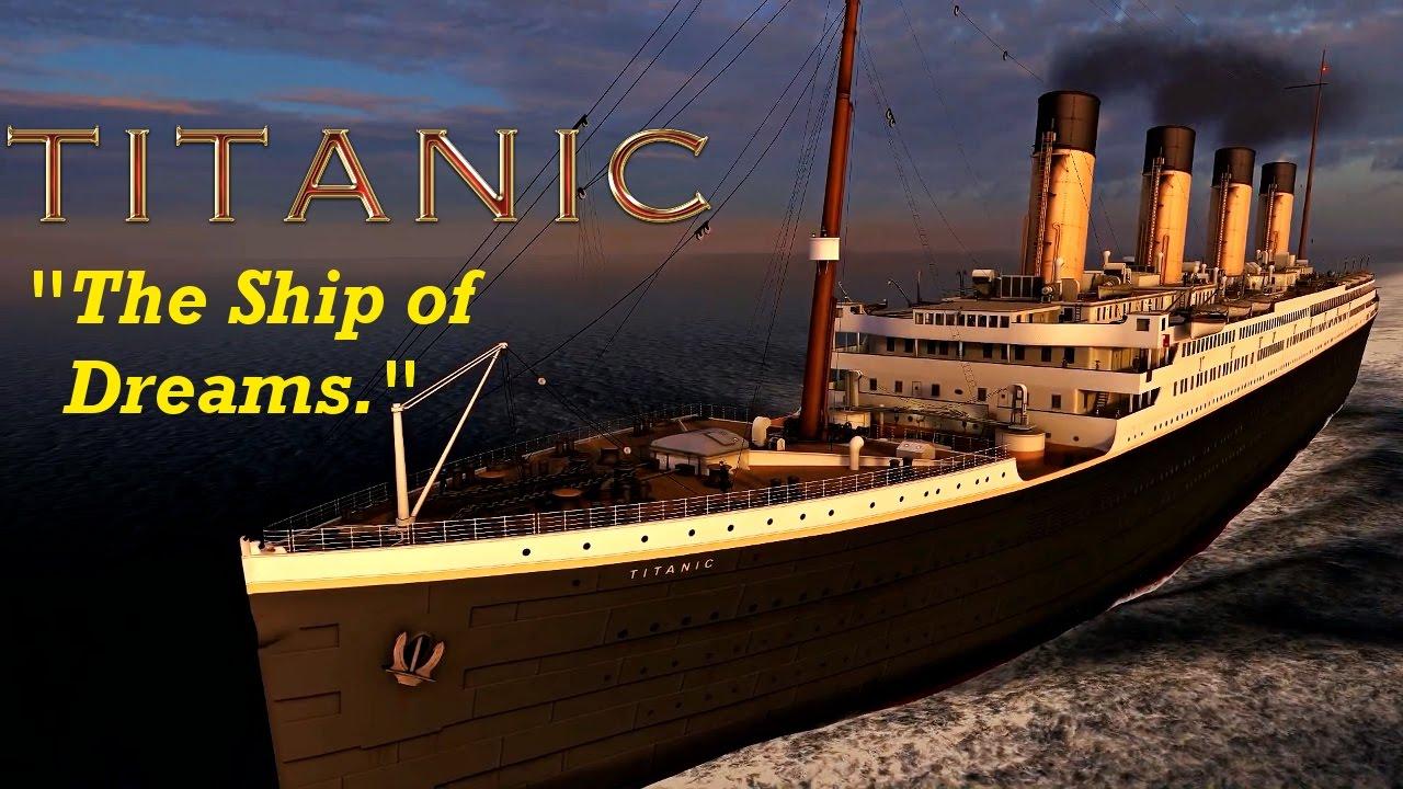 titanic ship of dreams