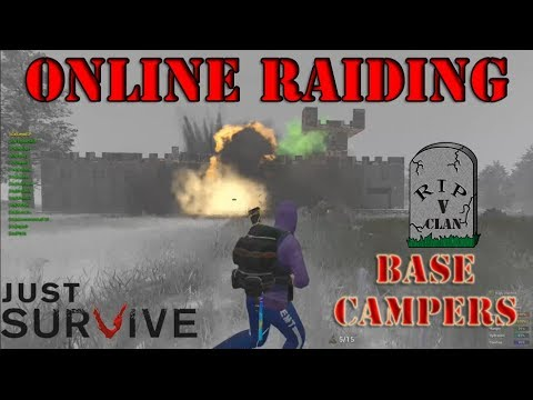 Just Survive: iGx online Raiding [V]