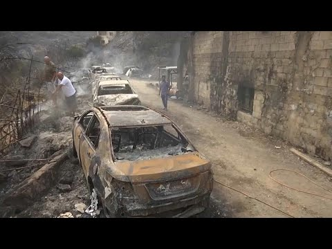 شاهد: دمار كبير تخلفه الحرائق في لبنان  - نشر قبل 4 ساعة