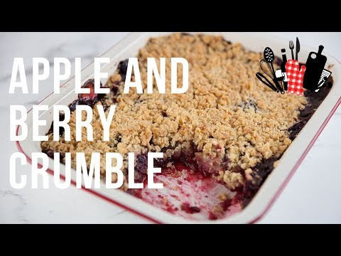 Apple And Berry Crumble | Everyday Gourmet S9 EP54