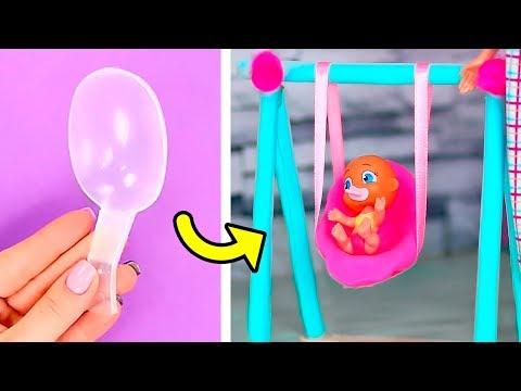 16 Total Coole Barbie Tricks Die Du Schnell Ausprobieren Möchtest / Barbie Babysitten Ideen