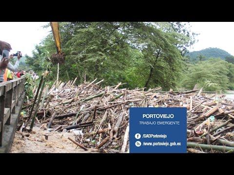 Respuesta inmediata en zonas afectadas en Portoviejo