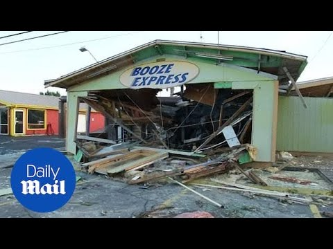 Devastating aftermath from Hurricane Michael in Panama City, Florida