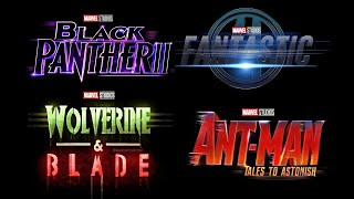 *LEAKED* NEW MCU PHASE 5 Slate Announcement - Marvel Phase 4 Explained