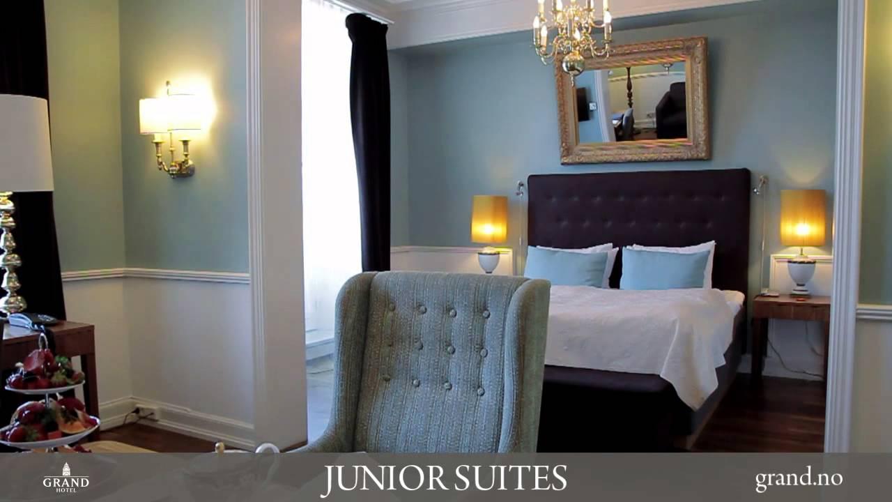 grand hotel oslo junior suites youtube. Black Bedroom Furniture Sets. Home Design Ideas