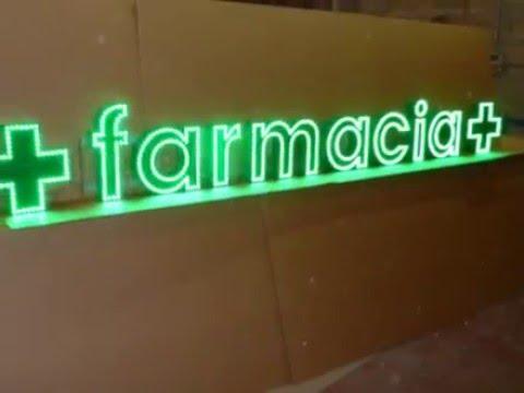 letras corpóreas para farmacias de CRUCESDEFARMACIA.NET