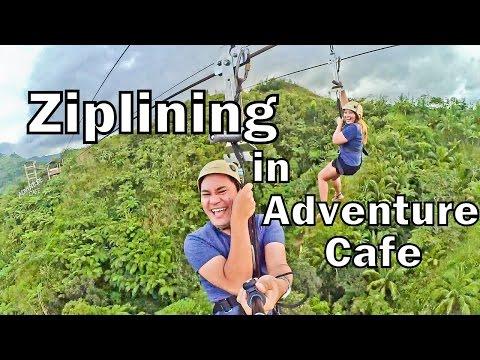 Ziplining in Adventure Cafe - Balamban, Cebu