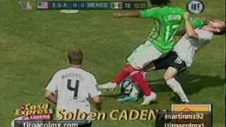 México Campeón: USA vs México Copa Oro 2009 Gran Final 0 5