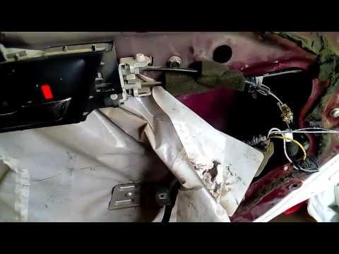 Reemplazo De Chapa Actuador Cerradura De Crv 2008 07