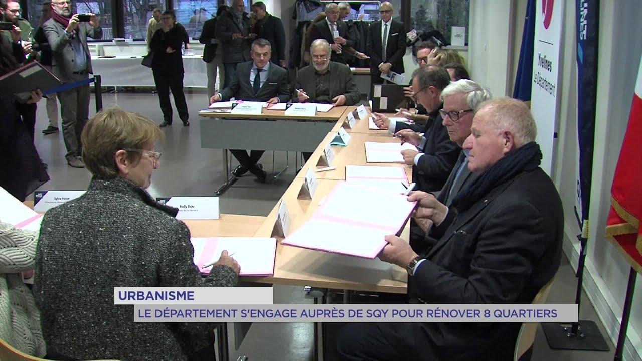 Yvelines | Urbanisme : le département s'engage auprès de SQY pour rénover 8 quartiers