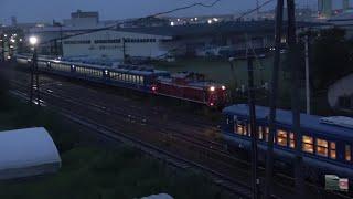 鳥取駅から回送された後の急行白兎12系客車 西鳥取車両支部まとめ(2018/9/29)