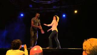 West Coast Swing freestyle Olga Khvan and Edson Modesto