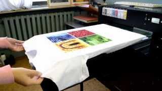 Цифровая печать на футболках.(, 2014-09-30T10:18:16.000Z)