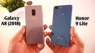 Honor 9 Lite vs Samsung Galaxy A8 (2018) Speed Test & Comparison [Urdu/Hindi]