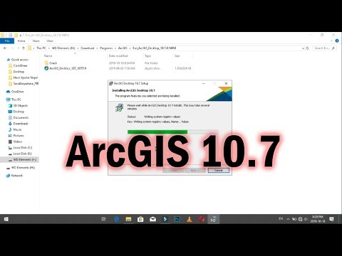 ArcGIS 10.7 Download And Install Complete Tutorial | ArcGIS Latest Version 2019 |